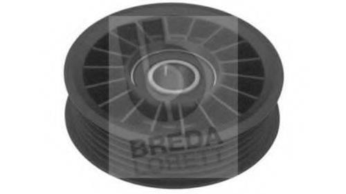 BREDA LORETT POA3152 Паразитный / ведущий ролик, поликлиновой ремень