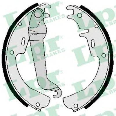 LPR 02540 Комплект тормозных колодок