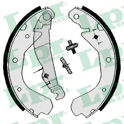 LPR 04640 Комплект тормозных колодок