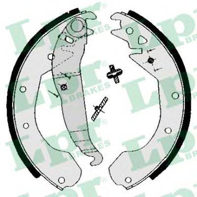 LPR 04650 Комплект тормозных колодок