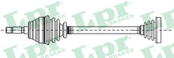 LPR DS13026 Приводной вал