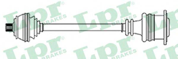 LPR DS14222 Приводной вал