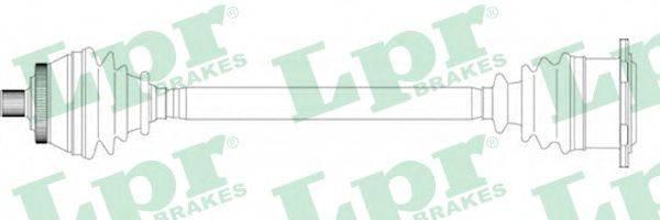 LPR DS14250 Приводной вал