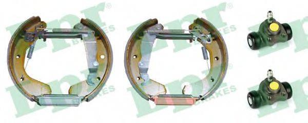 LPR OEK226 Комплект тормозных колодок