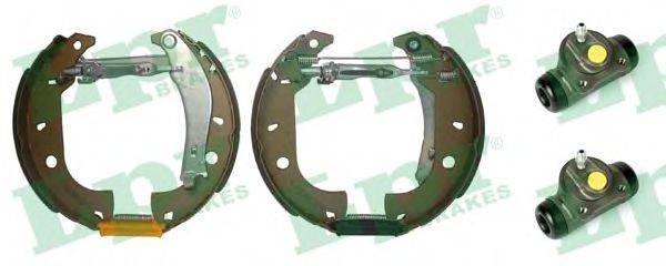 LPR OEK309 Комплект тормозных колодок