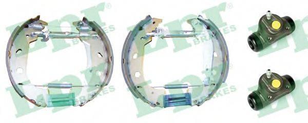 LPR OEK420 Комплект тормозных колодок