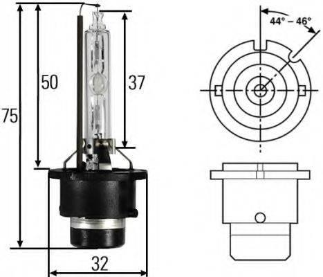 HELLA 8GS007949101 Лампа накаливания, фара дальнего света; Лампа накаливания, основная фара; Лампа накаливания; Лампа накаливания, основная фара; Лампа накаливания, фара дальнего света