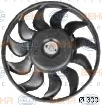 HELLA 8EW351038371 Вентилятор, охлаждение двигателя