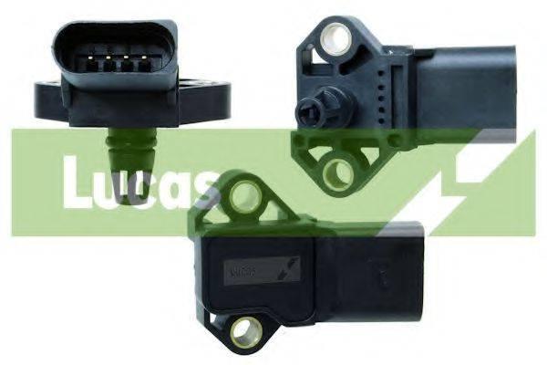 LUCAS ELECTRICAL SEB1289 Датчик, давление во впускном газопроводе