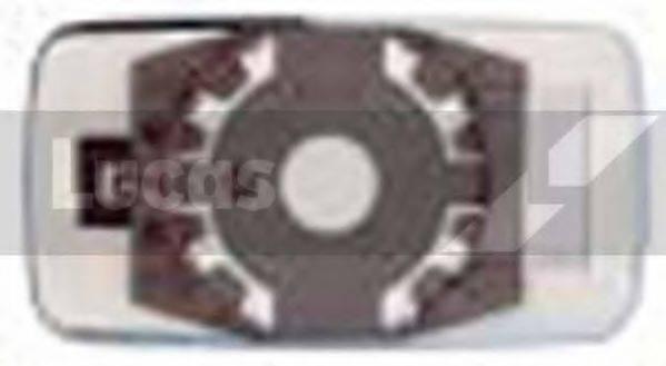 LUCAS ELECTRICAL LR0065 Зеркальное стекло, узел стекла
