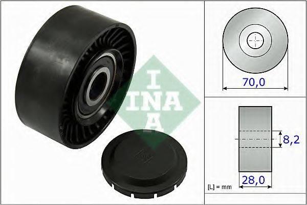 INA 532046810 Паразитный / ведущий ролик, поликлиновой ремень