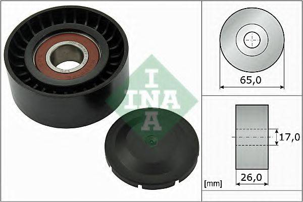 INA 532055710 Паразитный / ведущий ролик, поликлиновой ремень