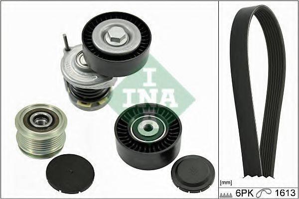 INA 529000310 Поликлиновой ременный комплект