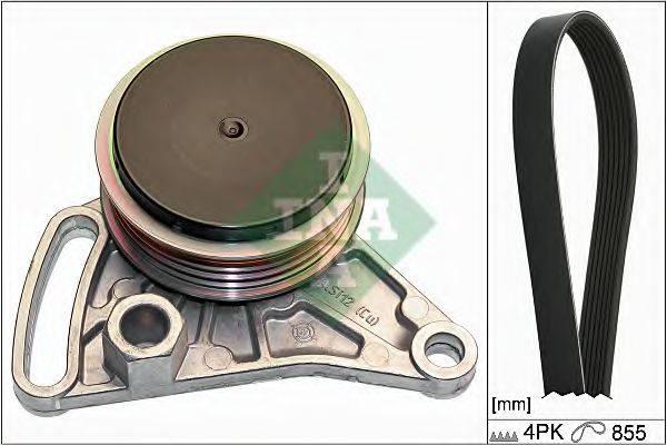 INA 529009910 Поликлиновой ременный комплект