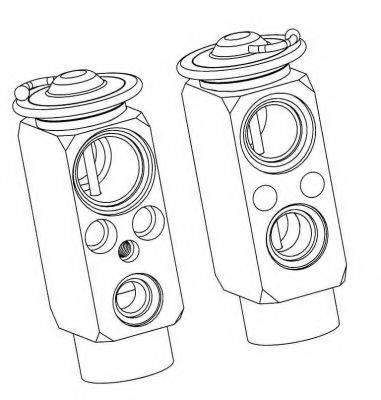 NRF 38359 Расширительный клапан, кондиционер