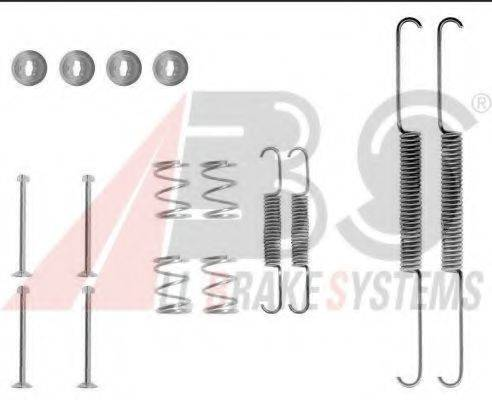 A.B.S. 0507Q Комплектующие, тормозная колодка