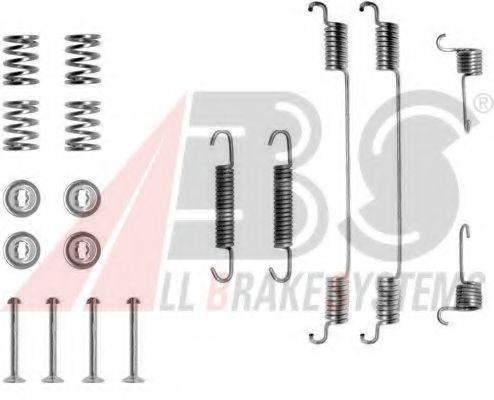 A.B.S. 0682Q Комплектующие, тормозная колодка