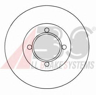 A.B.S. 15750 Тормозной диск