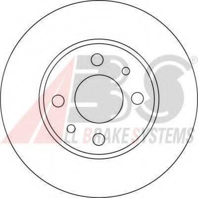 A.B.S. 15857OE Тормозной диск