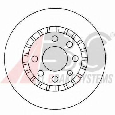 A.B.S. 15878OE Тормозной диск