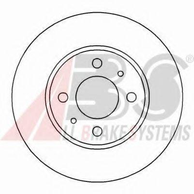 A.B.S. 16046OE Тормозной диск