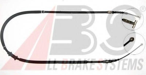 A.B.S. K10057 Трос, стояночная тормозная система