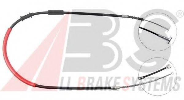 A.B.S. K13137 Трос, стояночная тормозная система