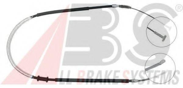 A.B.S. K13547 Трос, стояночная тормозная система