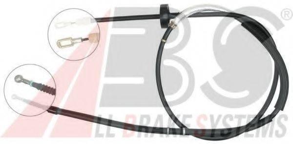 A.B.S. K18607 Трос, стояночная тормозная система
