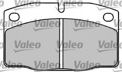 VALEO 597008 Комплект тормозных колодок, дисковый тормоз