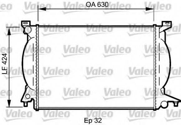 VALEO 735024 Радиатор, охлаждение двигателя