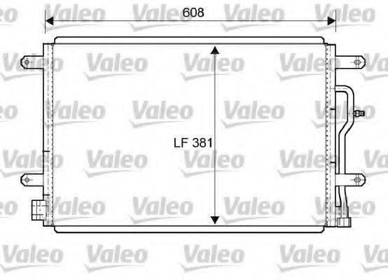 VALEO 818190 Конденсатор, кондиционер