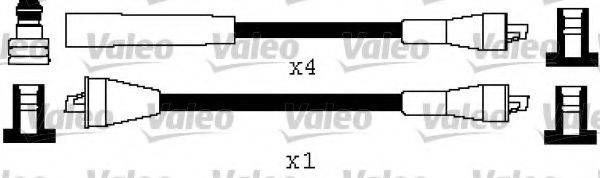 VALEO 346562 Комплект проводов зажигания