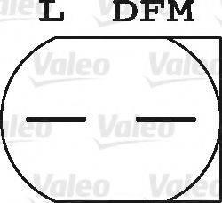 VALEO 437553 Генератор