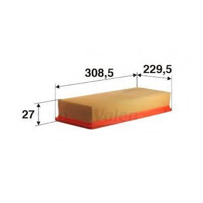 VALEO 585070 Воздушный фильтр