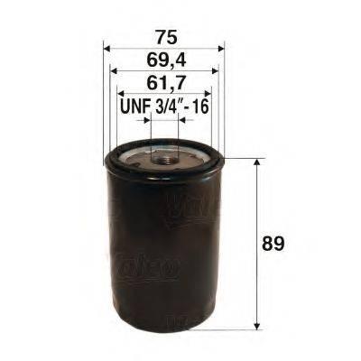 VALEO 586053 Масляный фильтр