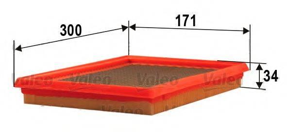 VALEO 585274 Воздушный фильтр
