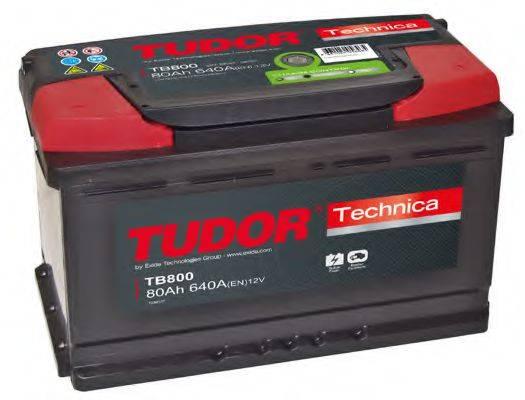 TUDOR TB800 Стартерная аккумуляторная батарея; Стартерная аккумуляторная батарея