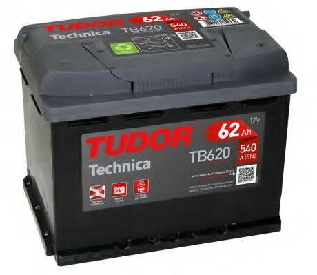 TUDOR TB620 Стартерная аккумуляторная батарея; Стартерная аккумуляторная батарея