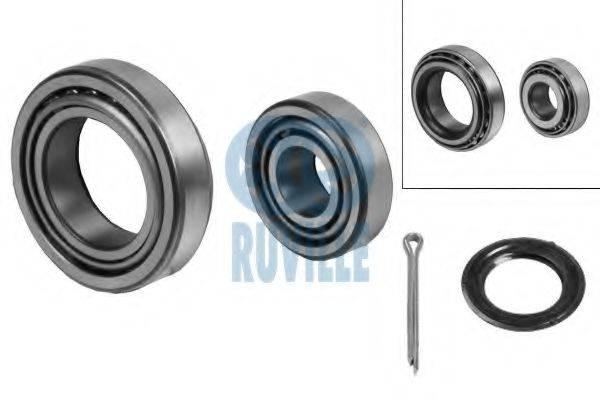 RUVILLE 5307 Комплект подшипника ступицы колеса