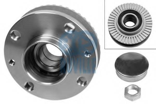 RUVILLE 5821 Комплект подшипника ступицы колеса