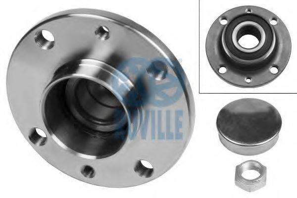 RUVILLE 5822 Комплект подшипника ступицы колеса