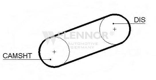 FLENNOR 4090 Ремень ГРМ