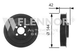 FLENNOR FVD99523 Ременный шкив, коленчатый вал