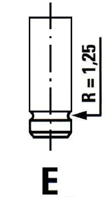 IPSA VL077600 Впускной клапан