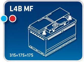 IPSA TM82P Стартерная аккумуляторная батарея