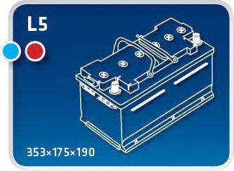 IPSA TME85 Стартерная аккумуляторная батарея
