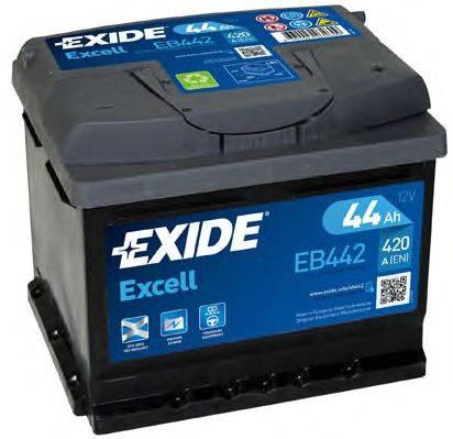 EXIDE EB442 Стартерная аккумуляторная батарея; Стартерная аккумуляторная батарея