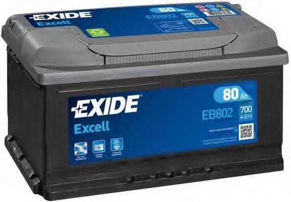 EXIDE EB802 Стартерная аккумуляторная батарея; Стартерная аккумуляторная батарея