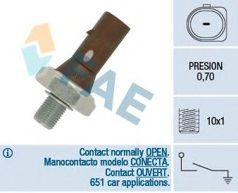FAE 12890 Датчик давления масла